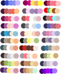 Palette of Colors and other